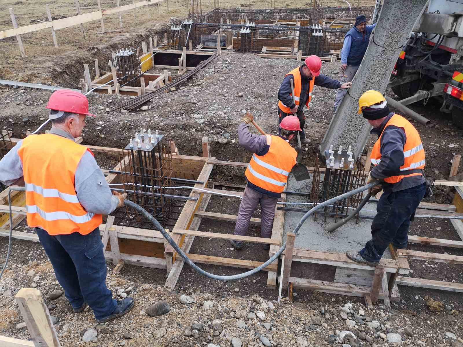 Izgradnja industrijskog objekta